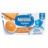 Nestlé Yogolino Dessert Koekjescrème 6+ Maanden 4 x 100 g
