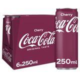 Coca-Cola Cherry 6 x 250 ml