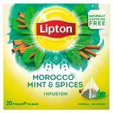Lipton Pyramide Kruidenthee Marokko Munt 20 Zakjes