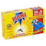 Vapona Anti-Mug Tablet 20 Tabletten + 10 Gratis