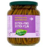 Carrefour Sperziebonen Extra Fijn 660 g