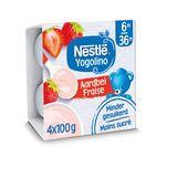 Nestlé Yogolino Fraise 4x100g