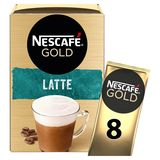 NESCAFÉ Koffie CAPPUCCINO Latte Zakjes 144 g