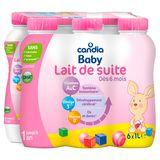 CANDIA BABY Opvolgmelk vanaf 6 maanden  Pack 6x1L