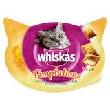 Whiskas Temptations Snack Chat au Poulet et Fromage 60 g