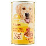 Carrefour Stukjes in Saus met Kip, Wortelen en Deegwaren 1250 g