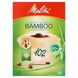 Melitta 102 Filtres à Café Bamboo 80 Pièces