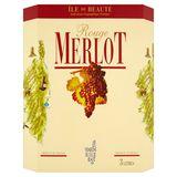 Merlot Île de Beauté Rouge 3 L