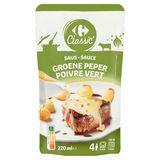 Carrefour Classic' Sauce Poivre Vert 220 ml