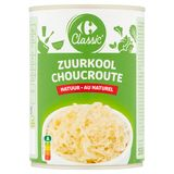 Carrefour Classic' Zuurkool Natuur 550 g