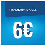 Carrefour - Herlaadkaart Mobile 6 euro