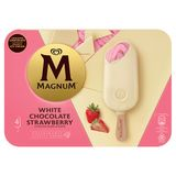 Magnum Ola Multipack Ijs Strawberry White 4 x 110 ml