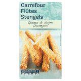 Carrefour Flûtes Graines de Sésame 125 g