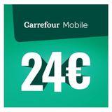 Carrefour - Herlaadkaart Mobile 24 euro