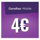 Carrefour - Herlaadkaart Mobile 4 euro