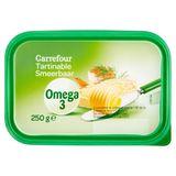 Carrefour Omega 3 Tartinable 38% Matière Grasse 250 g