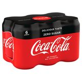Coca-Cola Zero Sugar 6 x 330 ml
