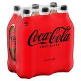 Coca-Cola Zero Sugar 6 x 1.5 L
