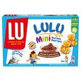 LU Lulu Mini Oursons Chocolat Goût Noisette 6 Sachets 165 g