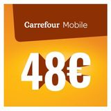 Carrefour - Recharge Mobile 48 euro