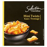 Carrefour Selection Mini Twists Kaas 75 g