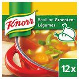 Knorr Original Bouillon Légumes 12 Cubes de Bouillons 12 x 10 g