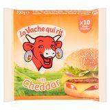 La Vache Qui Rit with Cheddar 10 Tranches 200 g