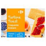 Carrefour Toast Tarwe 250 g