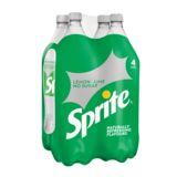 Sprite No Sugar 4 x 1.5 L
