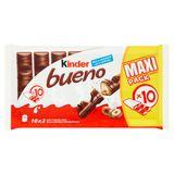 Kinder Bueno Lait en Noisettes Maxi Pack 20 Pièces 430 g