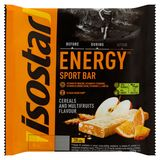 Isostar Energy Sport Bar Cereals and Multifruits Flavour 3 x 40 g