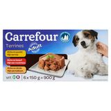Carrefour Terrines Adult 6 x 150 g