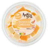 Carrefour Apero Time Cheddar & Gouda 140 g