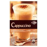 Carrefour Cappuccino avec Chocolat en Poudre à Saupoudrer 147 g