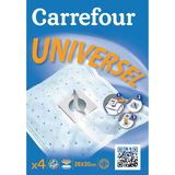 Carrefour - Universeel NR999+S Stofzuigerzakken