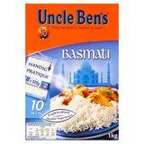 Uncle Ben's Riz Basmati 8 x 125 g