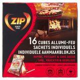 Zip Individuele Aanmaakblokjes 16 Stuks