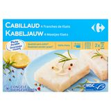 Carrefour Cabillaud 4 Tranches de Filets 4 x 100 g