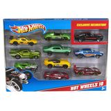 Hot Wheels - Giftpack 10 Auto's 3+
