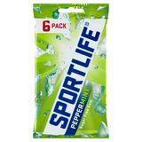 Sportlife Peppermint Sugar Free Gum 6 x 17 g