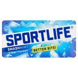 Sportlife 12 Sugar Free Gums Smashmint 3 x 17 g