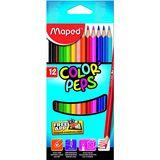 12 Crayons de couleur Color Peps