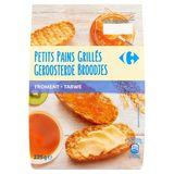 Carrefour Geroosterde Broodjes Tarwe 225 g