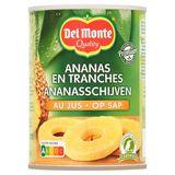 Del Monte Ananasschijven op Sap 565 g