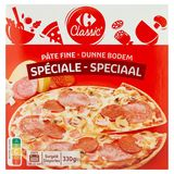 Carrefour Pizza Speciaal Dunne Bodem 330 g