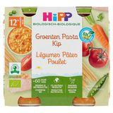 HiPP Biologique Légumes Pâtes Poulet +12 Mois 2 x 250 g