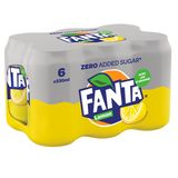 Fanta Zero Lemon 6 x 330 ml