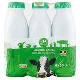 Carrefour Lait Demi-Écrémé 6 x 50 cl