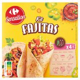 Carrefour Sensation Kit Fajitas 505 g