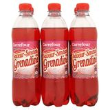 Carrefour Limonade Smaak Grenadine 6 x 50 cl